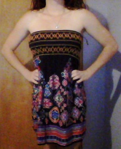 I treated myself to a new dress tonight :)