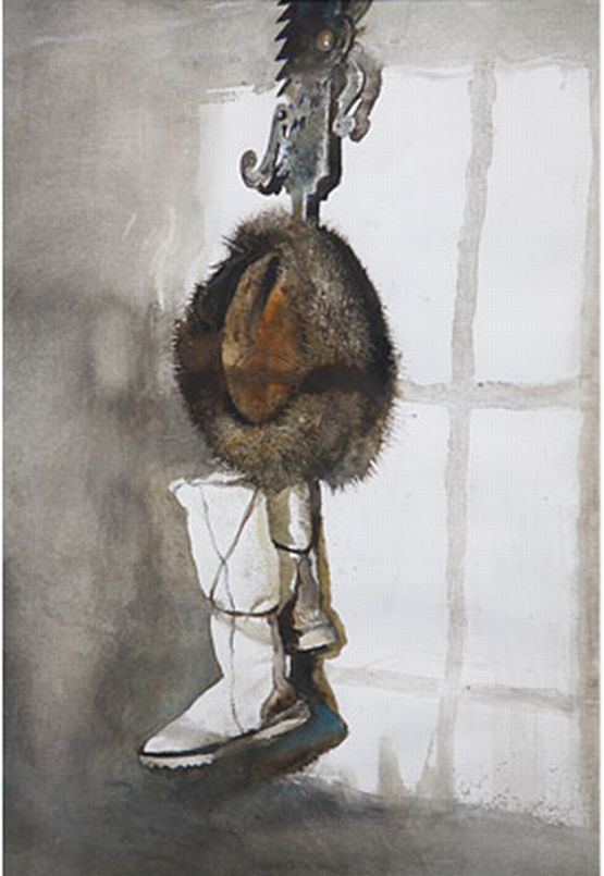 """The Trammel"" by Andrew Wyeth (resized)            via"