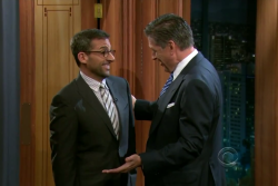 Steve Carell on The Late Show with Craig Ferguson