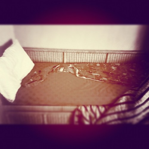 #photoadayjune #day21 #whereislept #bed #pillow (Scattata con Instagram)