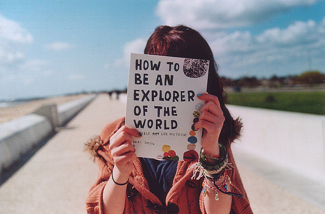 stringhearted:  explorer by millie clinton. on Flickr.