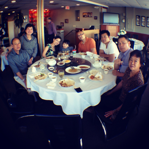 Dim Sum for Father's Day.