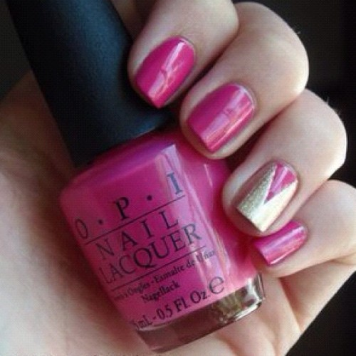 #instagram #instagood #instaphoto #likeit #nail #pink #O.P.I #photooftheday (Taken with Instagram)