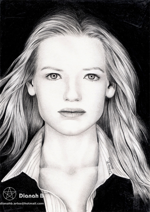 """ANNA TORV - OLIVIA DUNHAM"" (Graphite Portrait)Some Classic work this time… Graphite, I love you!20/06/2012Lead pencil and drawing paper."