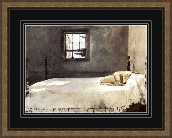 Andrew Wyeth Master Bedroom via