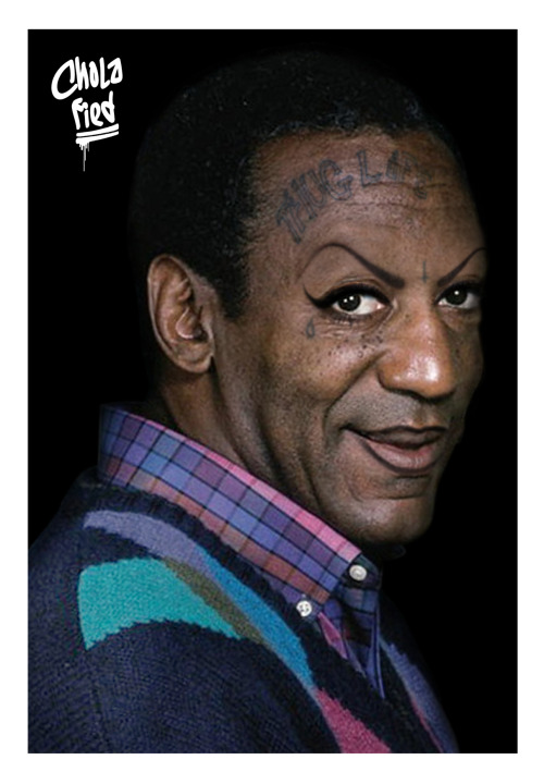 cholafied:  Chola Cosby - Cool Sweater Bro
