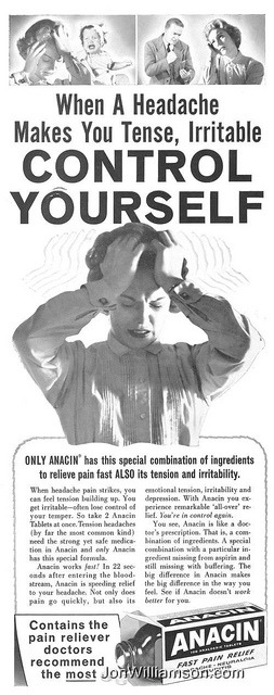 oldads:  Anacin - 19631019 Post on Flickr.  Website | Flickr | Tumblr | Twitter