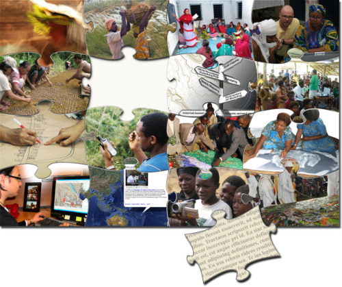 Participatory GIS (PGIS) and Public Participation GIS (PPGIS) PGIS (Participatory GIS): PGIS is an emergent practice in its own right. It is the result of a merger between Participatory Learning and Action (PLA) methods with Geographic Information Technologies (GIT). PGIS facilitates the representation of local people's spatial knowledge using two- or three-dimensional maps. These map products can be used to facilitate decision-making processes and to support communication and community advocacy.  PGIS spatial analysis uses the functionality and data associated with GIS technology to explore community driven questions. In the process, local spatially referenced as well as non-spatial data are integrated and analysed to support discussion and decision-making processes. A Training Kit on Participatory Spatial Information Management and Communications is available. The Training Kit offers building blocks from which trainers can design and build their own workshops according to the training needs of their audiences. The Training Kit includes 15 Modules, each of which is comprised of a set of Units.  http://pgis-tk-en.cta.int/