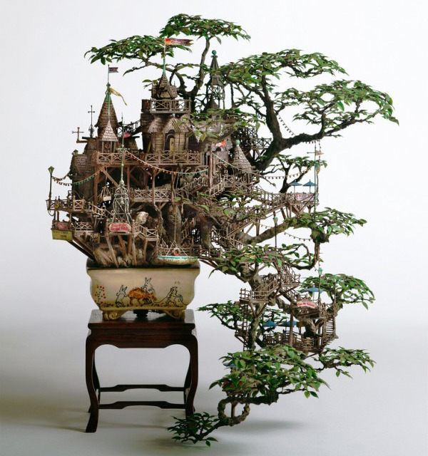 homedesigning:  Bonsai Tree House by Takanori Aiba