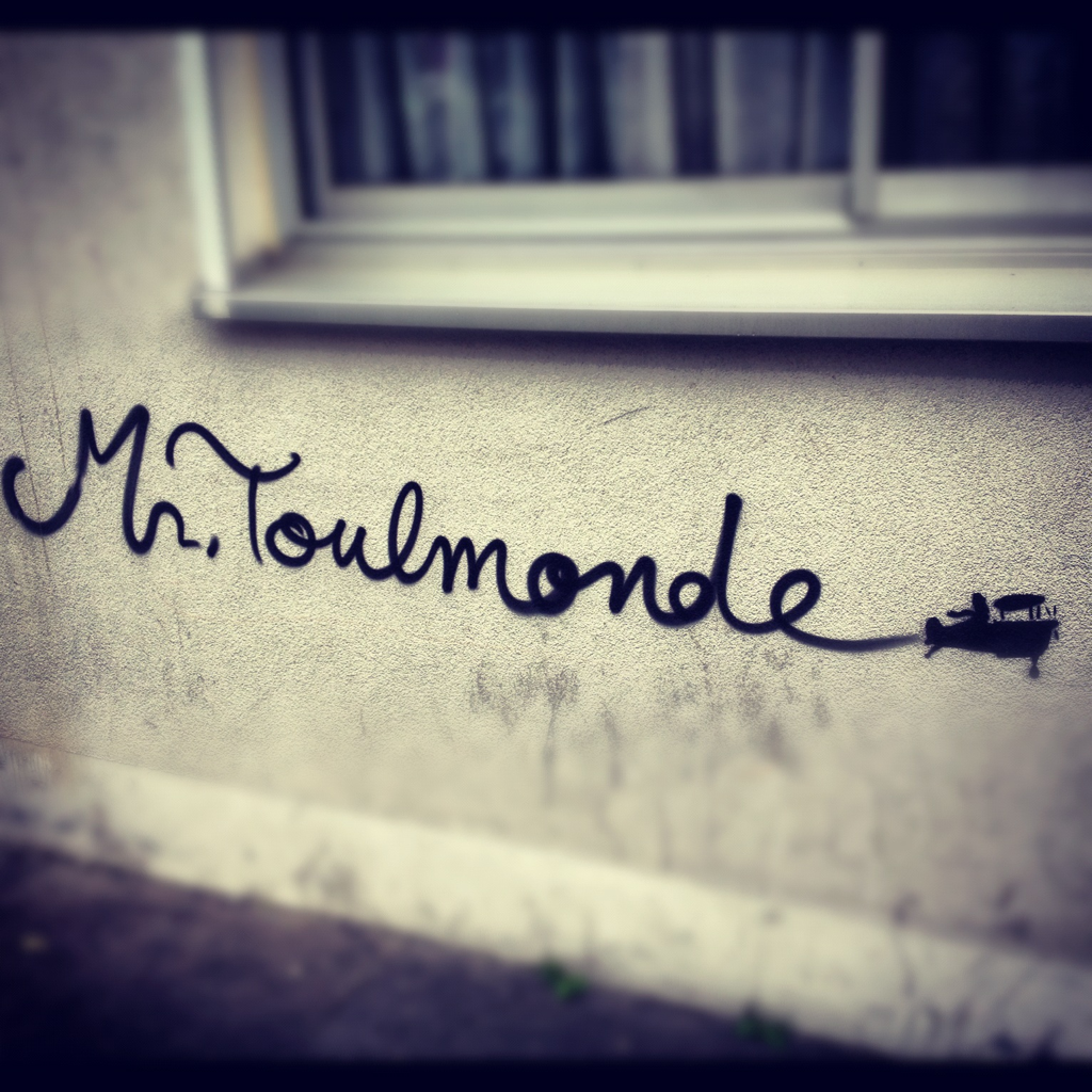 #streetart #paris Mr Toulemonde