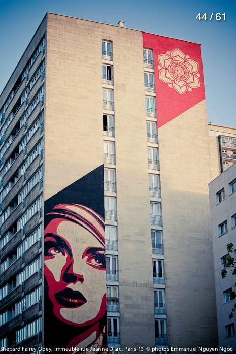 Shepard Fairey in Paris ( XIII )