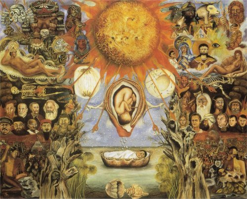 firstthemic:  Moses - Frida Kahlo 1945
