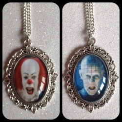 Pennywise & Pinhead If you would like something custom made please message me!