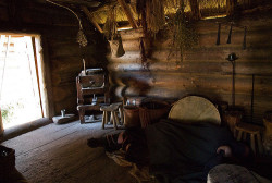ajordlei:  Inside of a Viking Home
