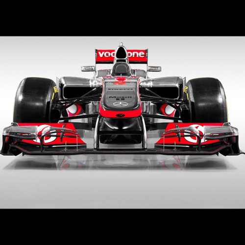 Best F1 car! EVER! #mclaren #vodafone #mercedes  (Taken with Instagram)