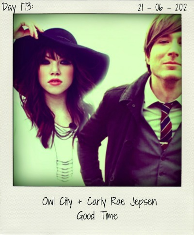 It's always a good time with Owl City and songbird Carly Rae Jepsen. Now, the duo has teamed up on their summery new single. A garuanteed hit. Bring the sun out and enjoy this lovely tune.