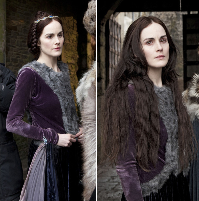 Michelle Dockery in BBC's Henry IV