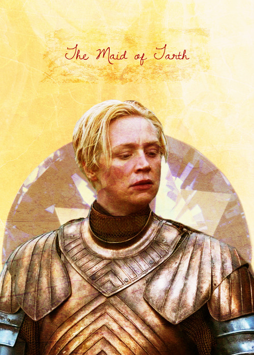 """Is every word you say a lie, Kingslayer? Tarth is called the Sapphire Isle for the blue of it's waters"" ""Shout it a little louder, wench, I don't think Urswyk heard you. The sooner they know how little you're worth in ransom, the sooner the rapes begin. Every man here will mount you, but what do you care? Just close your eyes, open your legs and pretend they're all Lord Renly."""