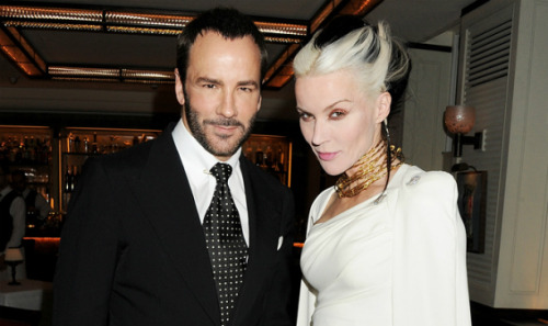 Daphne Guinness and Tom Ford, June 2012.