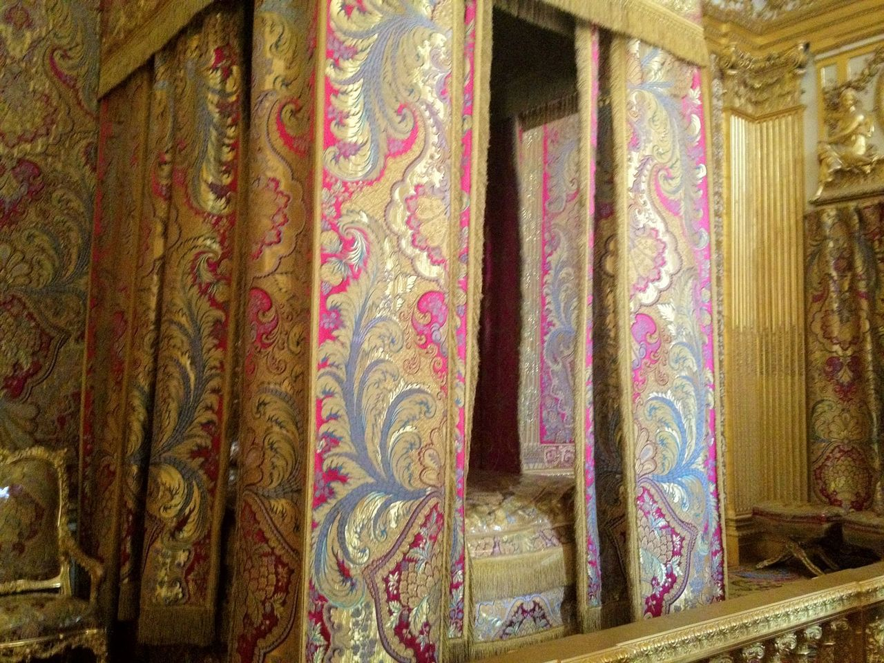 Paris, France; Château de Versailles - The King's Chamber