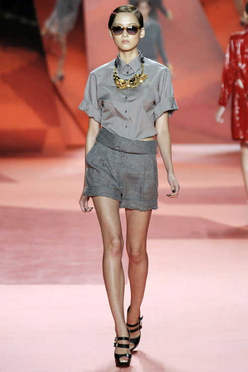 Hye Park at 3.1 Phillip Lim S/S 2010.