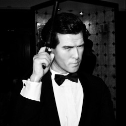 #pierce #brosnan #007 #james #bond #wax #museum #dublin #ireland  (Taken with Instagram)