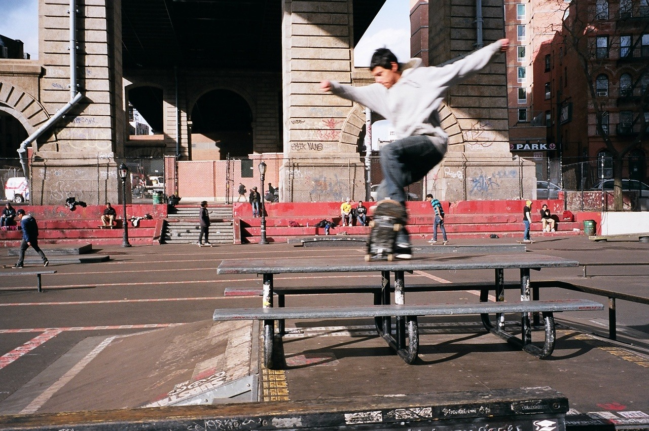 IN Honor of Go Skateboarding Day, Leo Heinert at the old LES Park.  Also check out this article on Lomo.  http://www.lomography.com/magazine/lifestyle/2012/06/21/go-skateboarding-day-nyc-the-rise-of-torro