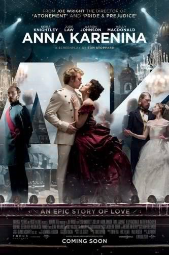 lostsplendor:  Joe Wright's Anna Karenina (2012) Still unsure of how this will turn out. Either way, the poster.  Wah! November 9th? So far awayyyyyy!