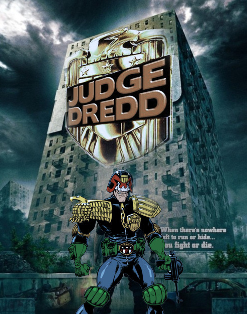 I don't know if Dredd ripped off The Raid, or vice versa, but you have to admit that both movies look quite similar.
