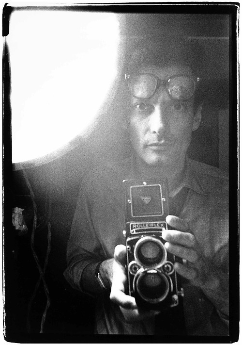 Self portrait of Richard Avedon, 1963.