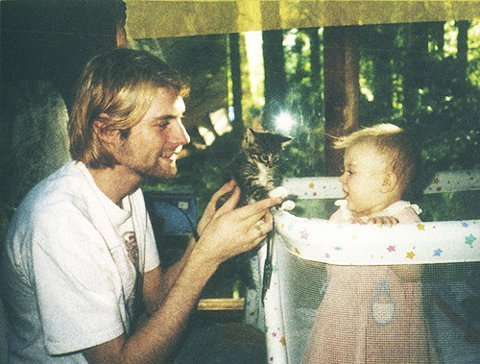 Kurt Cobain & Is Daughter