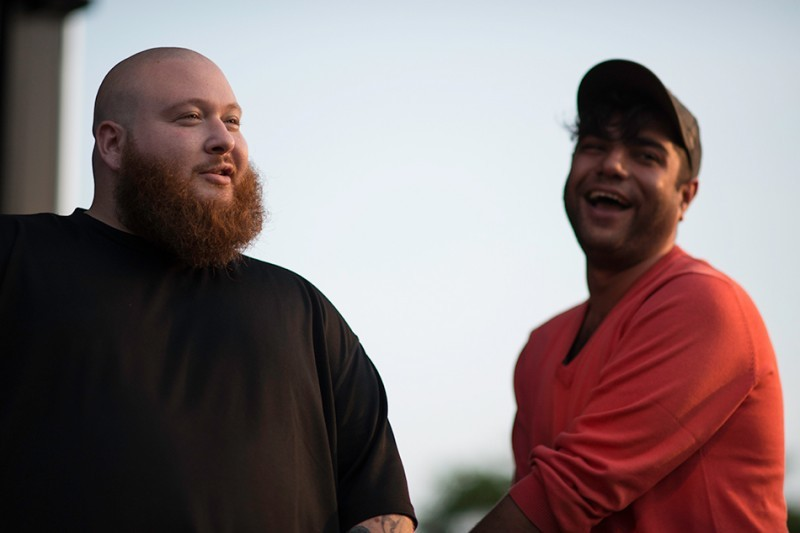 ericneedsmoney:  Action Bronson x Heems  seent both these b's at that pub stuff
