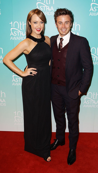 2012 ASTRA AWARDS - LIZZY LOVETTE & JAMES TOBIN Yes, it is that time of year again! Tonight marked the 10th Annual Astra Awards held in Walsh Bay, Sydney.  The biggest personalities in Australian television attended this exclusive event to celebrate and embrace the diversity of local talent in the industry. So what are you waiting for?  Check out these shots of your fave stars strutting the red carpet! Image Source: Zimbio