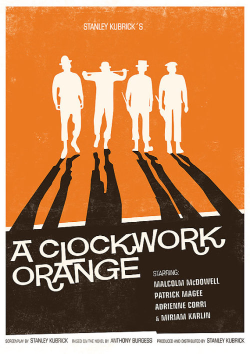 minimalmovieposters:  A Clockwork Orange by handz