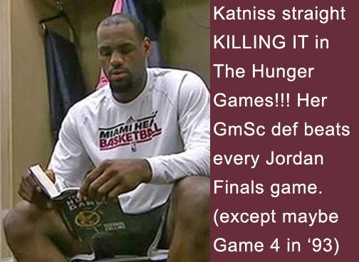 LeBron James, the advanced stat geek. http://billjameslebronjames.tumblr.com/