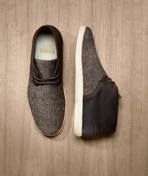Vans OTW Collection Fall 2012: The Howell http://www.facebook.com/DressShoesandSneaker  http://pinterest.com/DSSN/