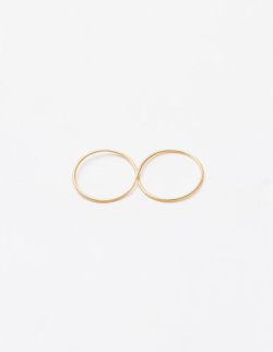 gemma holt infinity ring - gold. Love.