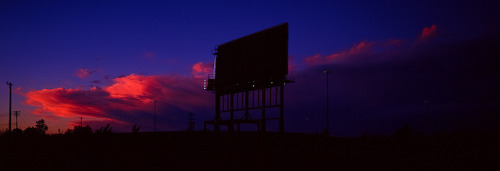 billboard dreams by gsgeorge on Flickr.the color is so good