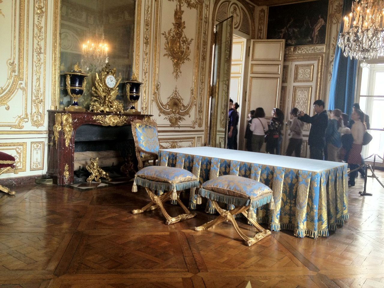 Paris, France; Château de Versailles - The Council Study