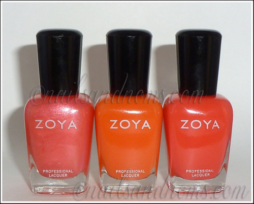 (via Zoya Blogger Collection by Birchbox Swatches and Review)