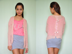 BOW-BACK CARDIGAN | P150 AVAILABLE To order, copy item code (WC2P150) and send order form here.