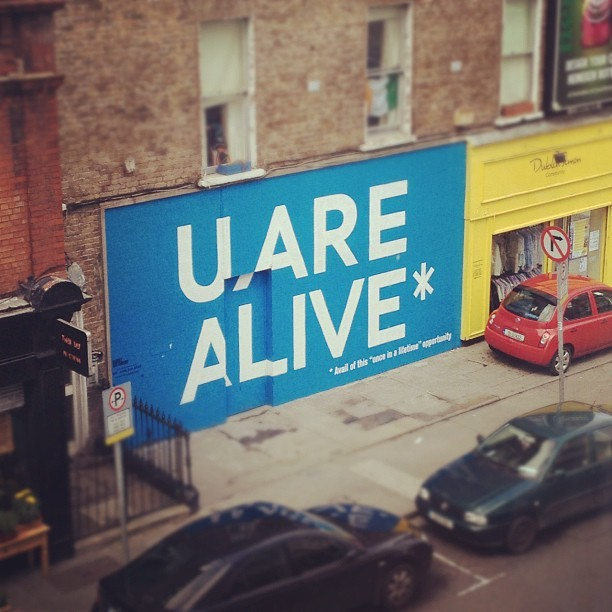 You are alive! (Taken with Instagram at The Psychological Society Of Ireland)