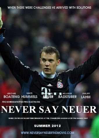 Never Say NeuerNever Say Never || Made by Swatkitteh