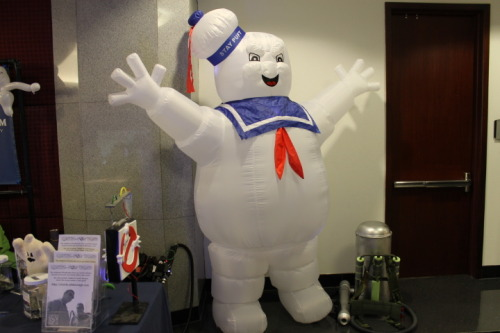 Stay-Puft man at the Alabama Phoenix Festival.