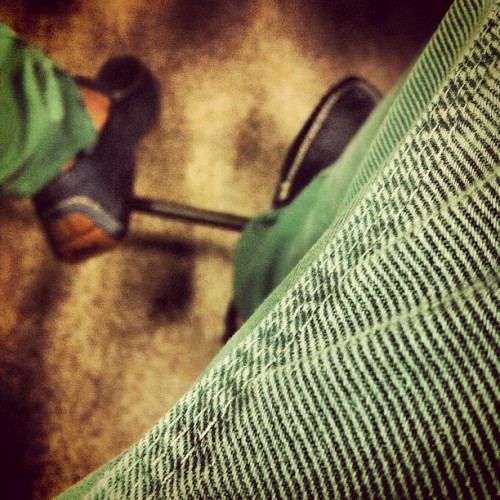 In my Lo loafers (Taken with Instagram)
