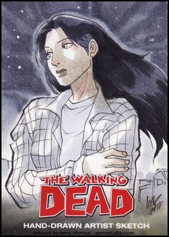 Lori Grimes —- The Walking Dead Comic Book Trading Card SetRelease July 2012