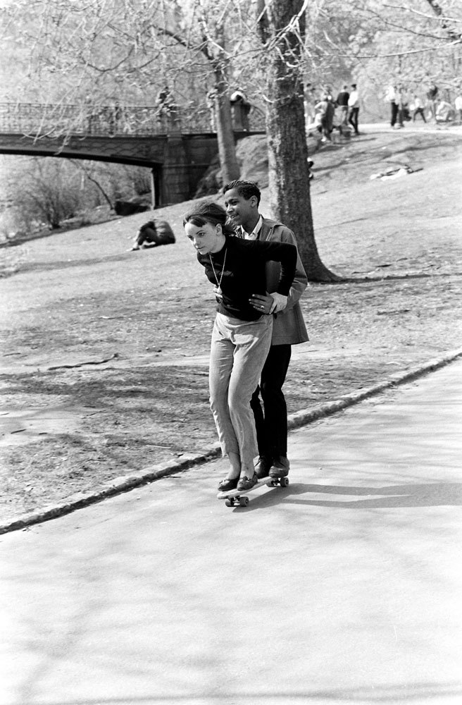 "life:  Now this is what romance looks like. On international ""Go Skateboarding Day,"" LIFE.com looks back at the early, anarchic days of a quintessentially American sport and pastime that, over the years, has been embraced by millions around the world. See the photos here."