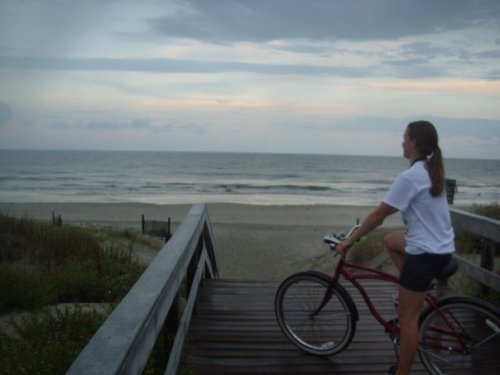 Throwback Thursday - Fall 07 riding bikes on Jekyll Island after soccer practice.