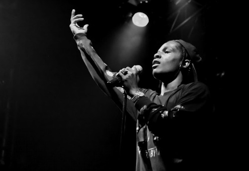 A$AP Rocky Shot this at A$AP Rocky's live show at the Electric Ballroom, Camden, London June 2012