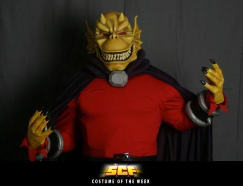 thesuperherocostumingforum:  The Demon Etrigan - SCF Costume of the Week This week's costume is a really incredible piece, The Demon Etrigan by Beau Brown!!!
